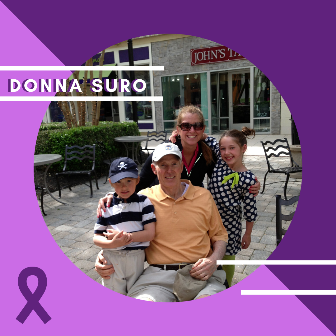 Donna Suro's #curealz story